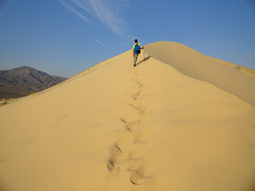 Escursione alle Kelso Dunes nel Deserto del Mojave