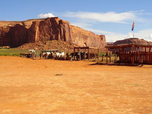 Dineh Horseback Trailrides, Monument Valley, Navajo Tribal Park