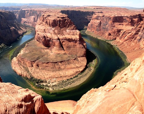 Panorama from Horseshoe Bend, Page, Arizona