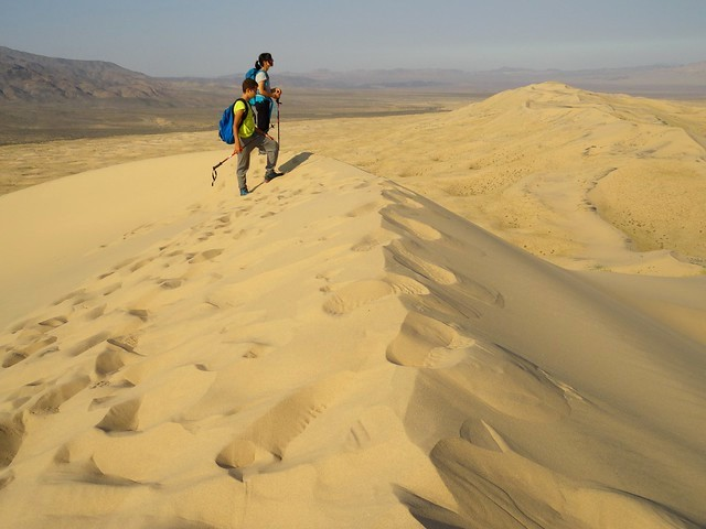 On the Top of Kelso Dunes, Mojave Preserve, California