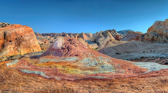 Palette Hill (Crazy Hill), Valley of Fire State Park, Nevada