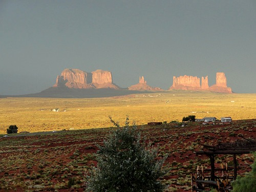 Summer Storm Coming In, Monument Valley