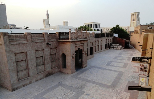 Al Fahidi Historic District (Bastakiya), Bur Dubai, Dubai, United Arab Emirates