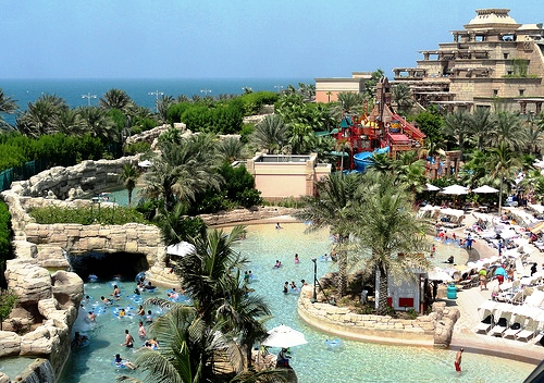 Aquaventure, Atlantis the Palm, Palm Jumeirah, Dubai, United Arab Emirates