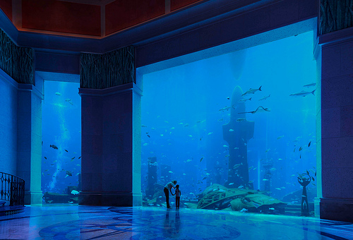 The Lost Chambers, The Atlantis The Palm, Palm Jumeirah, Dubai, United Arab Emirates