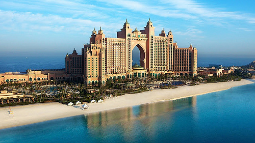 Atlantis The Palm Hotel, Palm Jumeirah, Dubai, United Arab Emirates