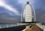 Burj al Arab in a Rainy Day Dubai United Arab Emirates Christopher Michel