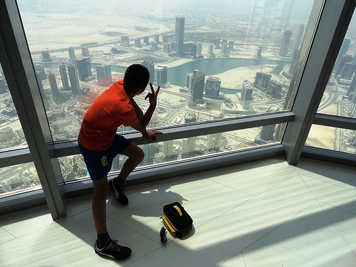 At the Top, Level 124, Burj Khalifa, Downtown Dubai, Dubai, United Arab Emirates