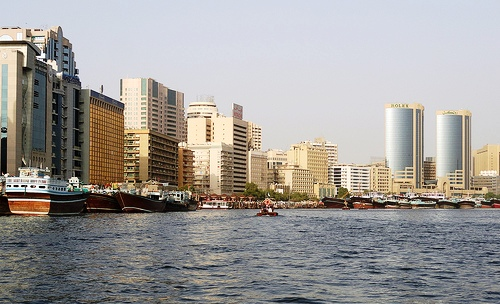 Crossing the Creek from Bur Dubai to Deira, Dubai, United Arab Emirates