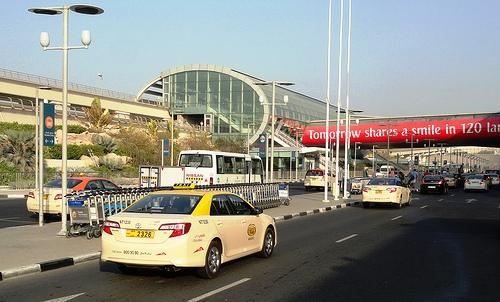 Dubai Airport Terminal 3 Metro Station, Dubai, United Arab Emirates