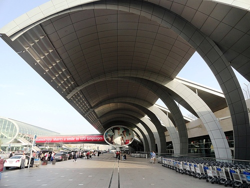 Dubai Airport Terminal 3 (Emirates Terminal), Dubai, United Arab Emirates