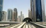 Dubai Metro Sheikh Zayed Road Dubai UAE
