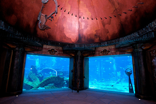 Inside The Lost Chambers, Atlantis The Palm, Palm Jumeirah, Dubai, United Arab Emirates