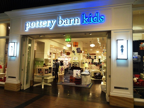 pottery barn kids, Dubai Mall, Downtown Dubai, United Arab Emirates