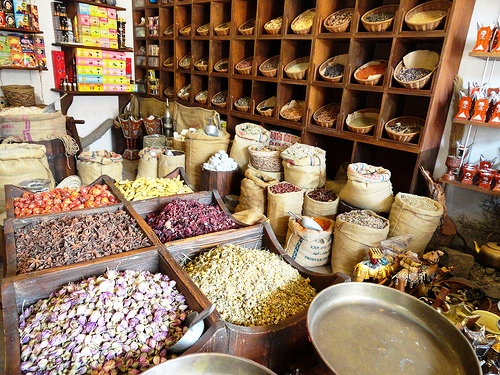 Spice Shop, Al Fahidi Historic District, Bur Dubai, Dubai, United Arab Emirates