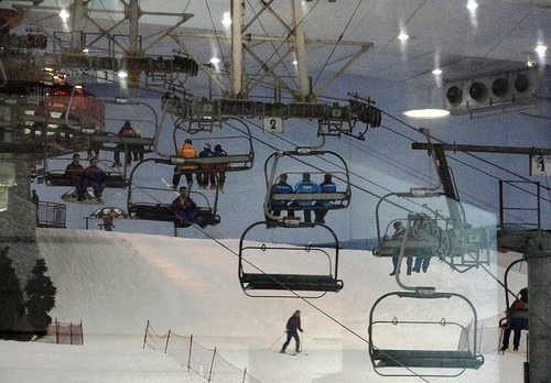 Ski Dubai, Mall of the Emirates, Dubai, United Arab Emirates
