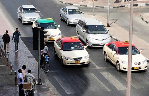 Taxi in Bur Dubai, Dubai, United Arab Emirates
