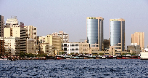 The Creek and Deira, Dubai, United Arab Emirates