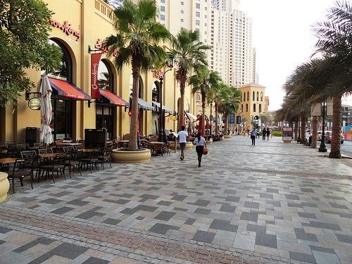 The Walk at JBR, Dubai Marina, Dubai, United Arab Emirates
