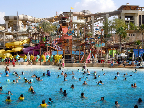Wild Wadi Waterpark, Jumeirah Beach, Dubai, United Arab Emirates