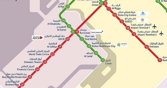 Cartina Turistica Dubai.Dubai Come Spostarsi A Dubai Guida Completa Ai Trasporti Ed A Come Muoversi A Dubai