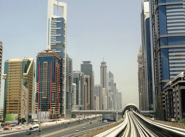 Sheikh Zayed Road, Dubai, United Arab Emirates