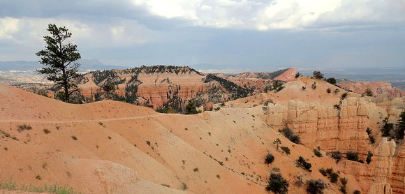 Summer Storm Approaching Fairyland Point, Bryce Canyon National Park, Utah
