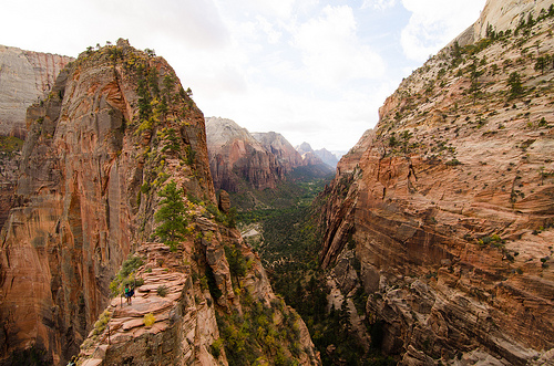 Scout's Lookout, Angels Landing Trail, Zion National Park, Utah