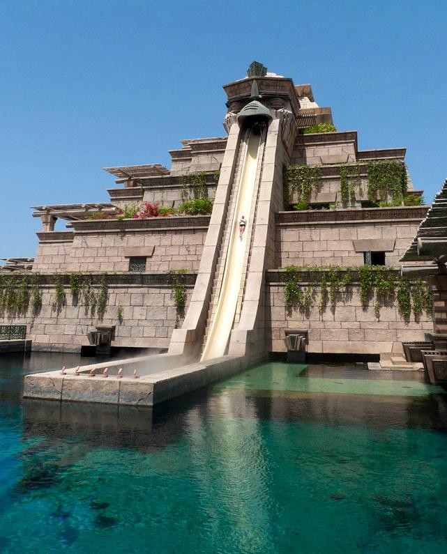 The Leap of Faith, Aquaventure, Atlantis The Palm, Palm Jumeirah, Dubai, UAE