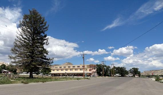 Main Street, Cannonville, Utah
