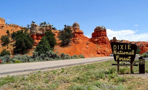 Utah 12, Dixie National Forest and Red Canyon, Utah
