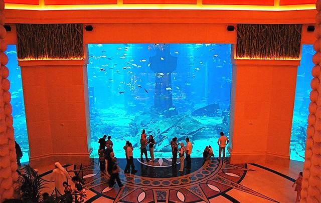 The Lost Chambers, Atlantis The Palm, Palm Jumeirah, Dubai, UAE