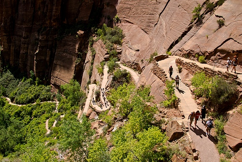 Walter's Wigglets, Angels Landing Trail, Zion National Park, Utah