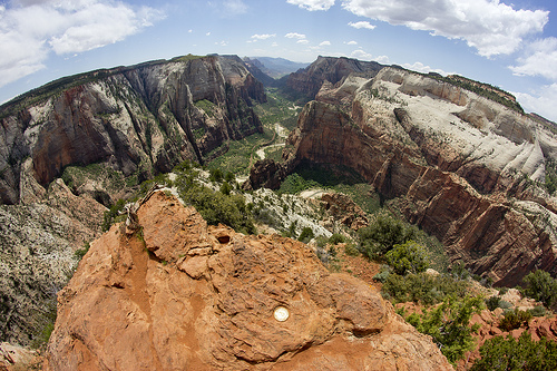 Zion Canyon from Observation Point, Zion National Park, Utah