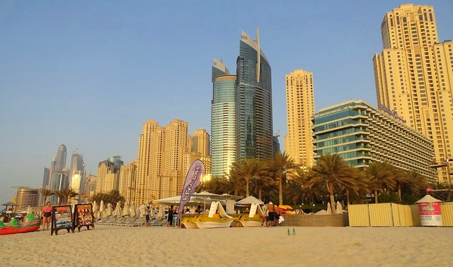 JBR Beach, Dubai Marina, Dubai, United Arab Emirates