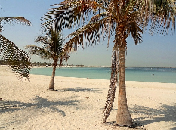 Al Mamzar Beach Park, North of the Creek, Dubai, United Arab Emirates