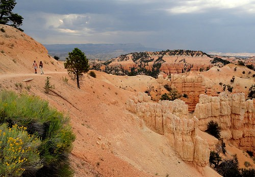 Fairyland Trail from Fairyland Point, Bryce Canyon National Park, Utah