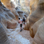 First Narrows in Willis Creek Canyon in Grand Staircase Escalante NM in Utah