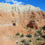Panorama from Angels Palace Trail in Kodachrome Basin State Park in Utah USA