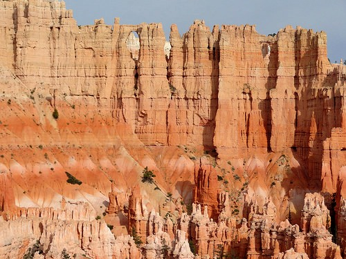 Wall of Windows, Bryce Amphitheater Traverse, Bryce Canyon National Park, Utah