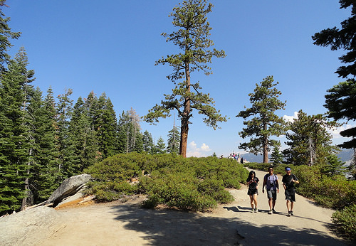 Glacier Point, Panorama Trail, Yosemite National Park, California