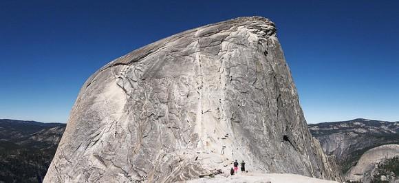 Half Dome Cable, Half Dome Summit Trail, Yosemite National Park, California