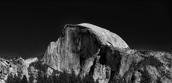 Iconic Half Dome, Yosemite National Park, California