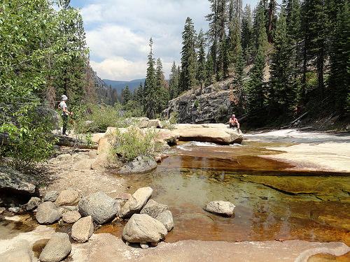 Illilouette Creek, Panorama Trail, Yosemite National Park, California