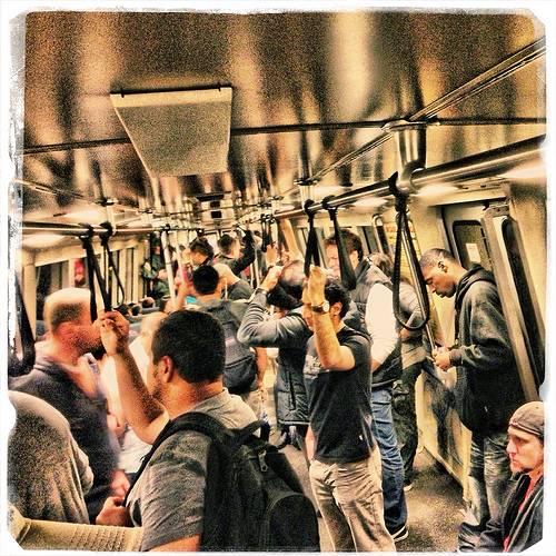 BART Train, San Francisco, California