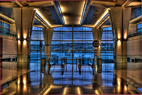 International Terminal, San Francisco International Airport, California