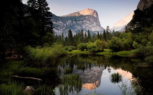 Mirror Lake Yosemite NP California
