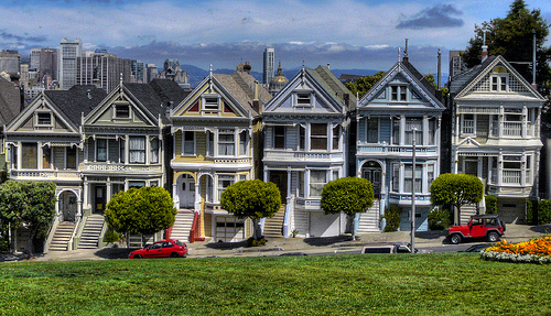 Painted Ladies at Alamo Square, San Francisco, California