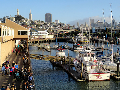Pier 39, Fisherman's Wharf, San Francisco, California