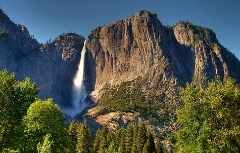 Upper Yosemite Fall, Yosemite Valley, Yosemite National Park, California